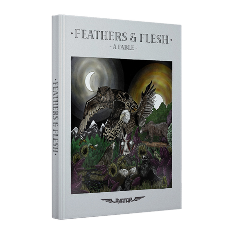 Feathers & Flesh Fable Book