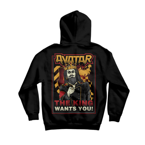 The King Wants You Pullover Hoodie