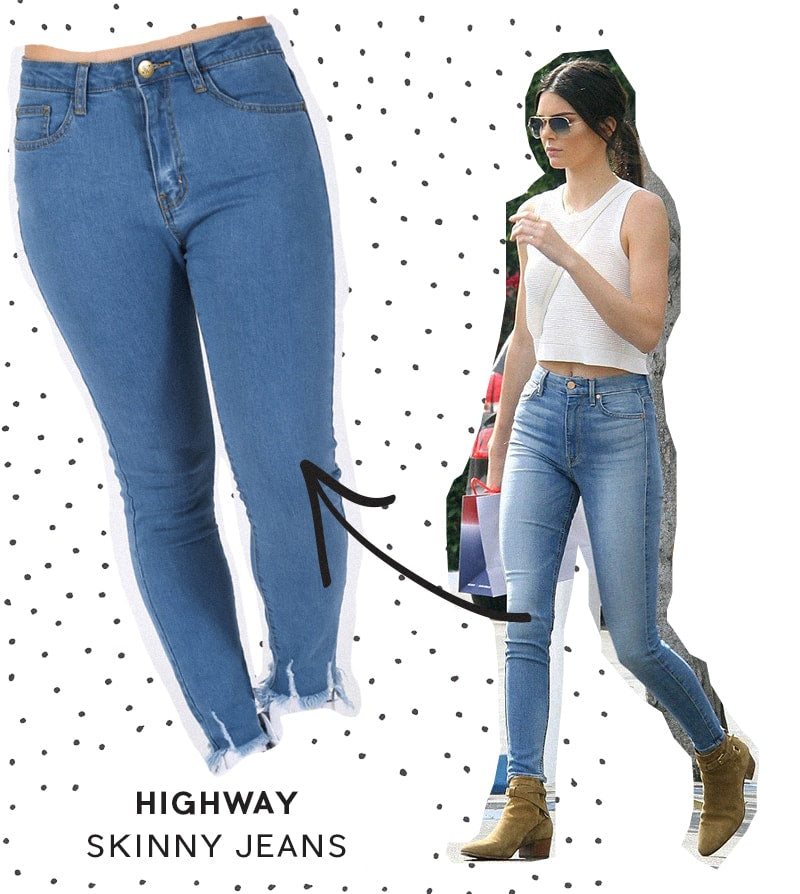 Highway Skinny Jeans - Blue Wash | STATUS COLLECTIVE