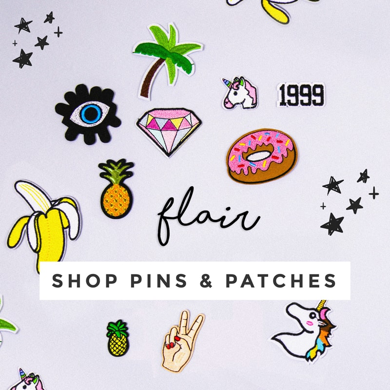 Shop Pins and Patches - Status Collective - Australian Online Fashion Boutique
