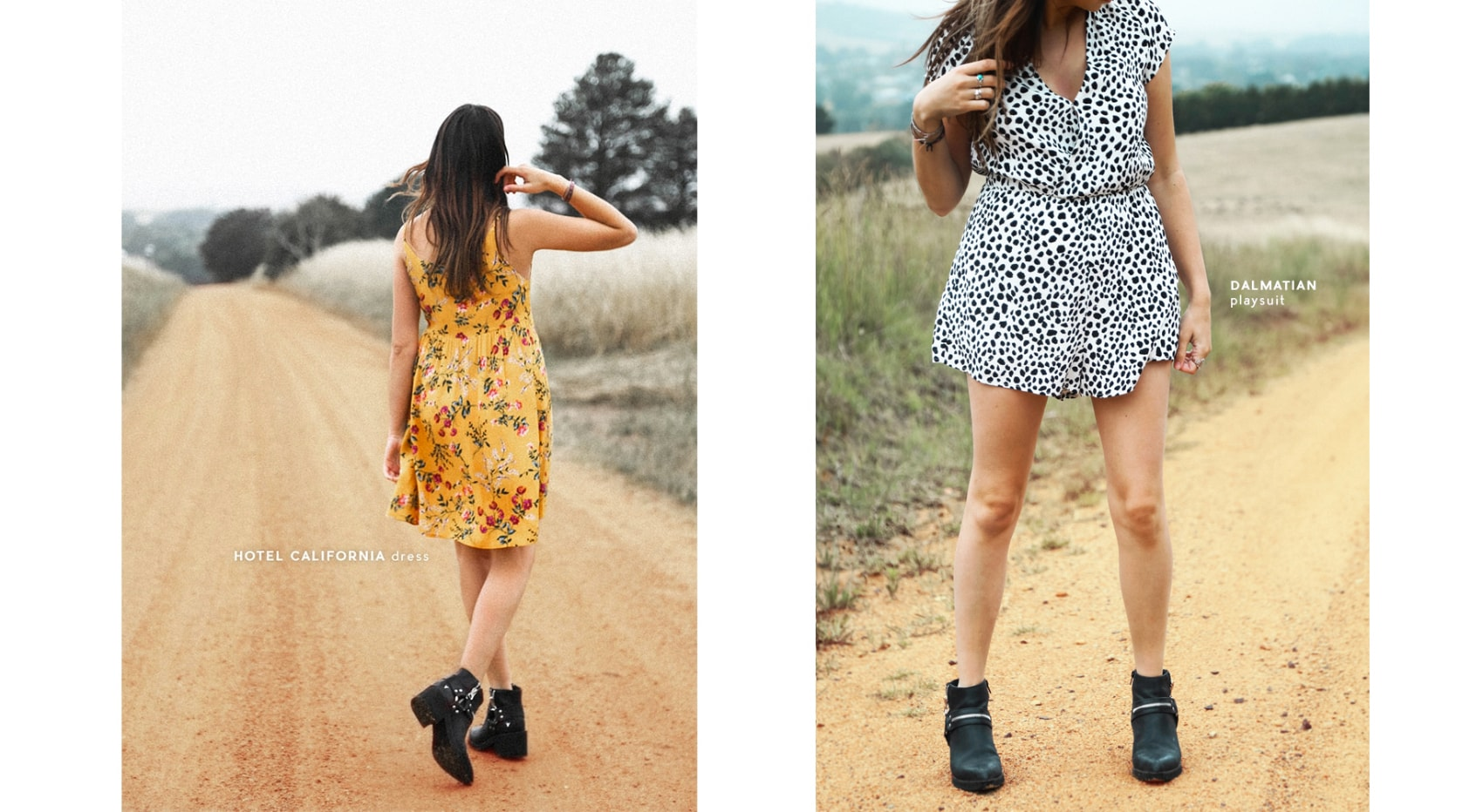 Status Collective California Summer Dalmatian Playsuit