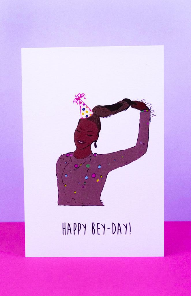 'Happy Bey-Day!' Beyonce Birthday Card