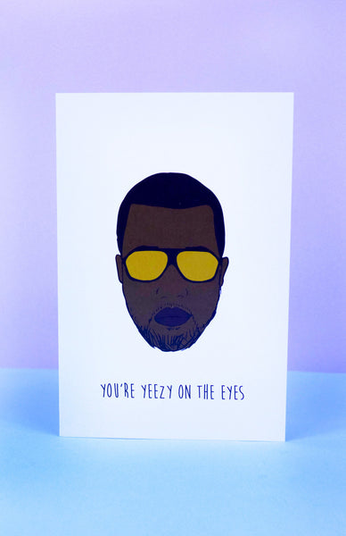 'You're Yeezy On The Eyes' Kanye West Scratch To Reveal Card