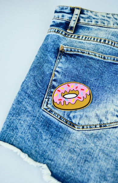 Doughnut Time Patch Creative