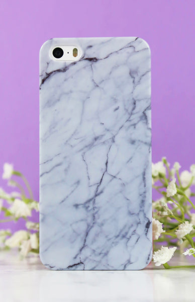 Gloss White Marble iPhone Case - 5/5S