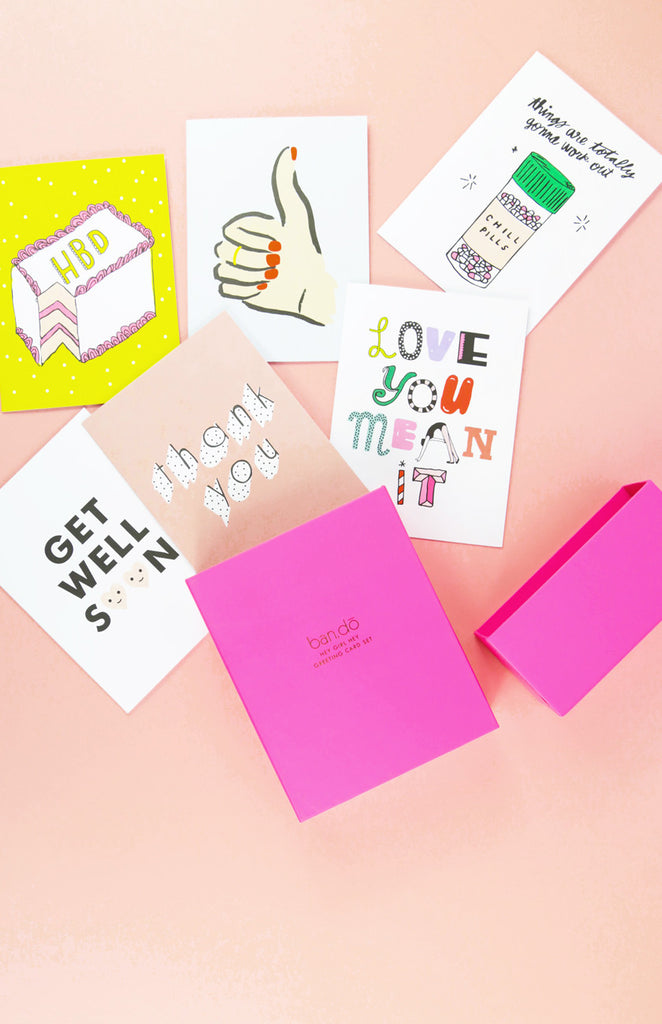 Hey Girl Hey Greeting Card Set