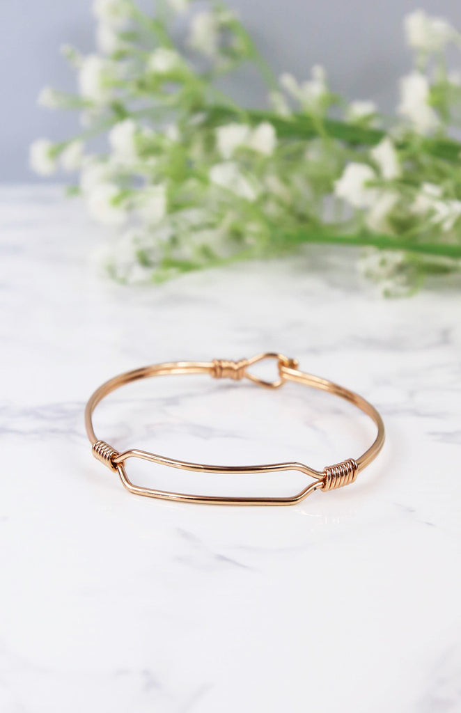 Link Arm Cuff - Rose Gold