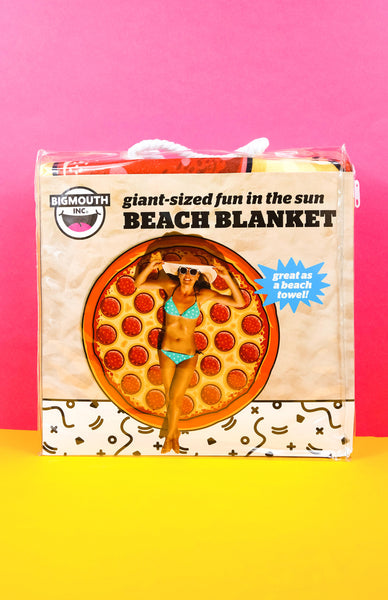 Big Mouth Gigantic Pizza Beach Blanket