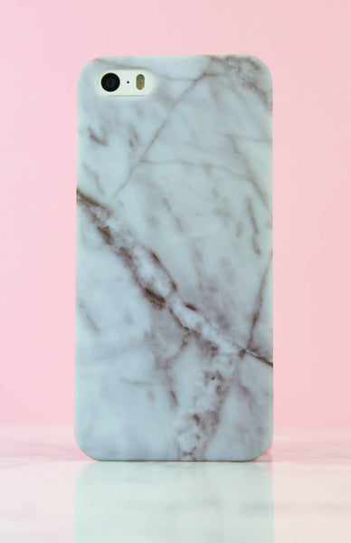 Matte Rose Marble iPhone Case - 5/5S Rollover