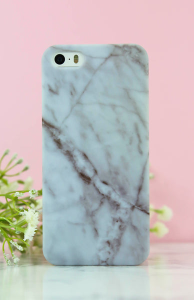 Matte Rose Marble iPhone Case - 5/5S