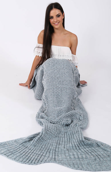 Mermaid Tail Blanket Rollover