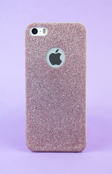 Pink Sparkles & Glitter iPhone Case - 5/5S Rollover