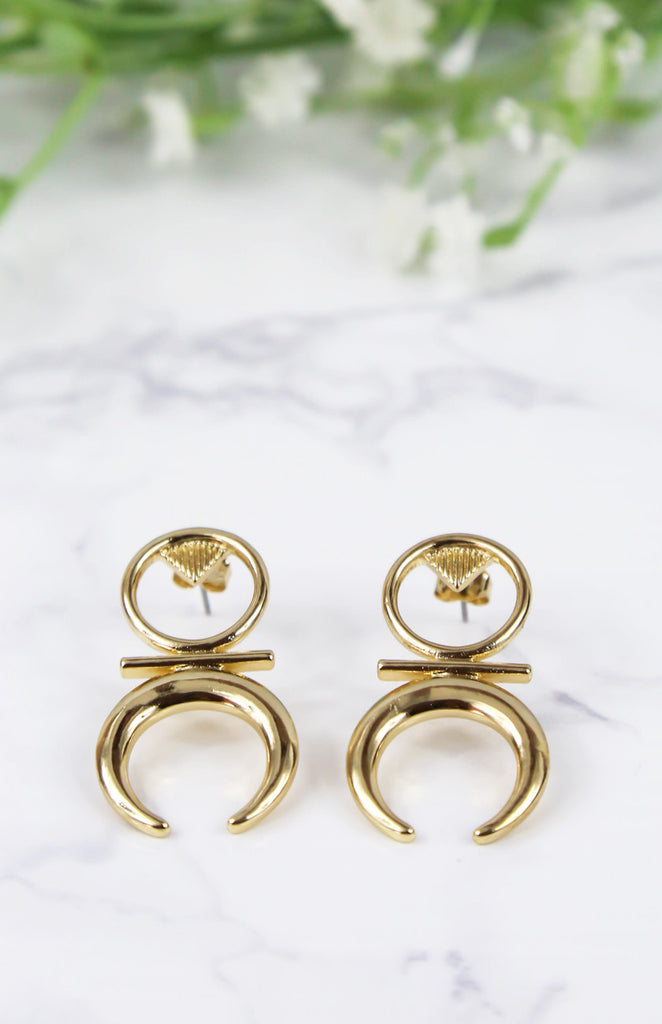 Harlow Earrings - Gold