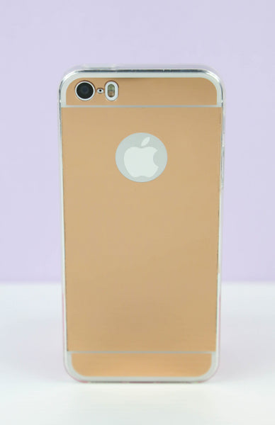 Rose Gold Mirror iPhone Case - 6/6S Rollover