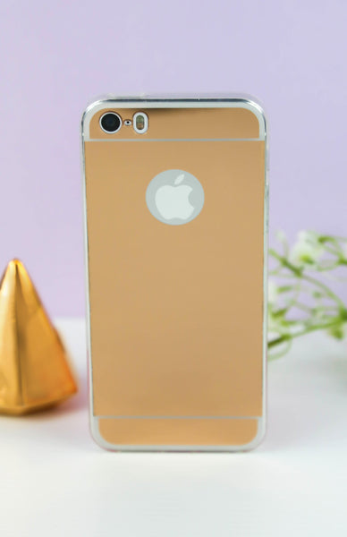 Rose Gold Mirror iPhone Case - 6/6S