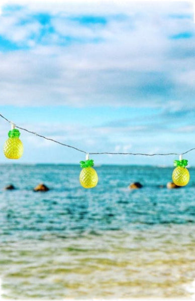 Sunnylife Pineapple String Lights Lifestyle Shot