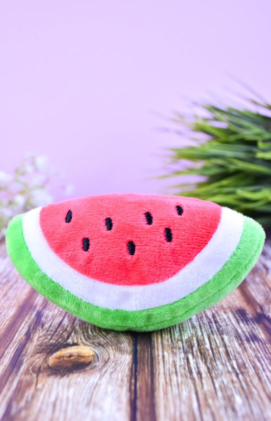 Woof-Fruity-Plush-Toy-Watermelon-Front