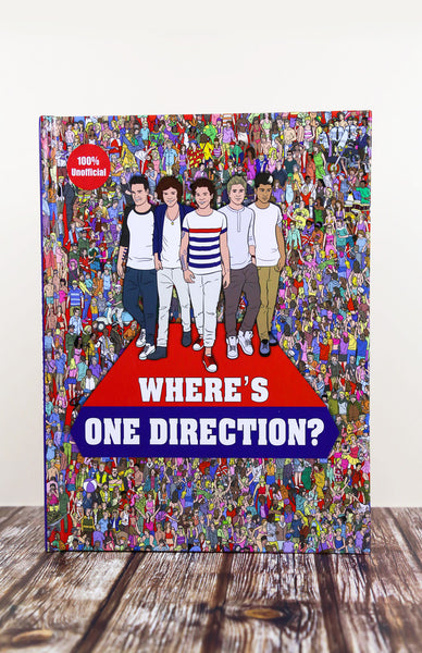 Where's One Direction? - Hardback Front