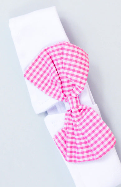 Smooth Talker Bowtie Collar - Pink Close Up