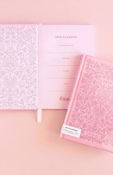 2018 Egyptian Rose Planner