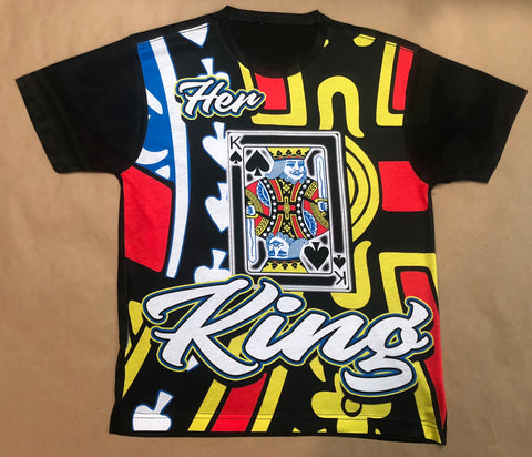 Her King Couples T-Shirt