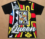 His Queen Couples T-Shirt