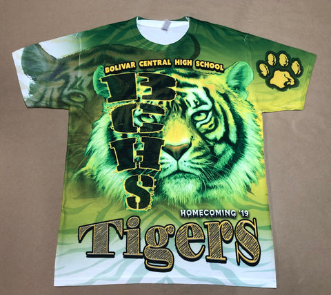 Bolivar Central High School 2019 Tailgate Shirt
