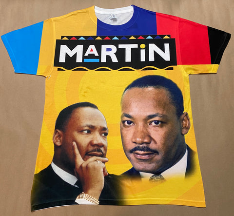 Martin MLK Allover 3D Shirt