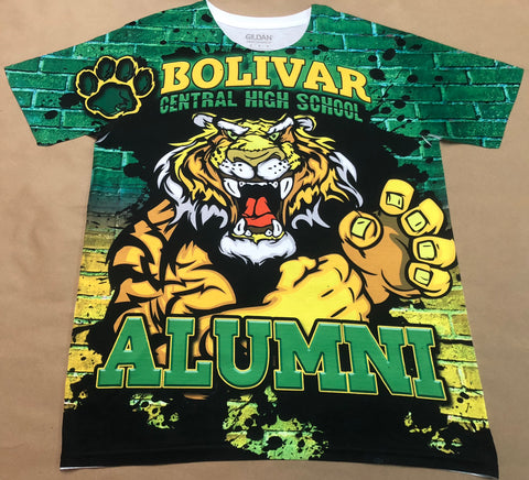 Bolivar Central High School 2018 Tailgate Shirt