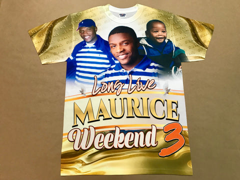 Long Live MAURICE Weekend 3D T-Shirt