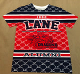 Lane College 2018 Alumni Shirt Front & Back