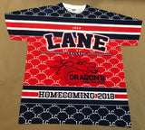 Lane College 2018 Homecoming Shirt Front & Back