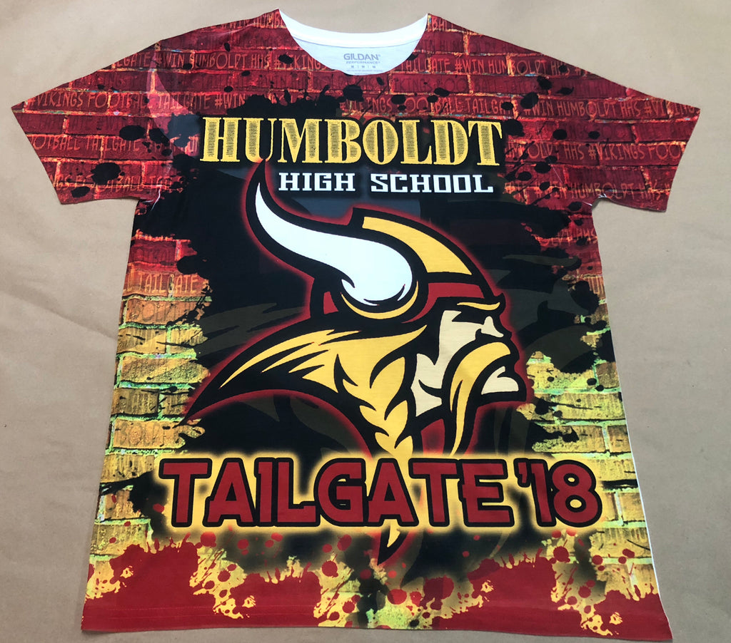 Humboldt High School 2018 Tailgate Shirts