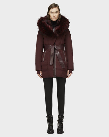 MODA DOWN PUFFER WITH REMOVABLE FUR