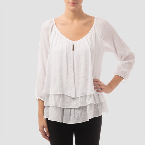 JOSEPH RIBKOFF Top Style 162424 - Nica's Clothing & Accessories - 1