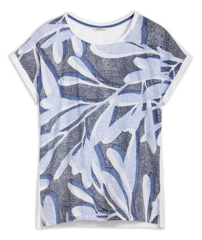 T-SHIRT WITH BOTANICAL PRINT