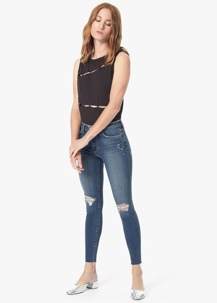 THE CHARLIE - HIGH RISE SKINNY ANKLE