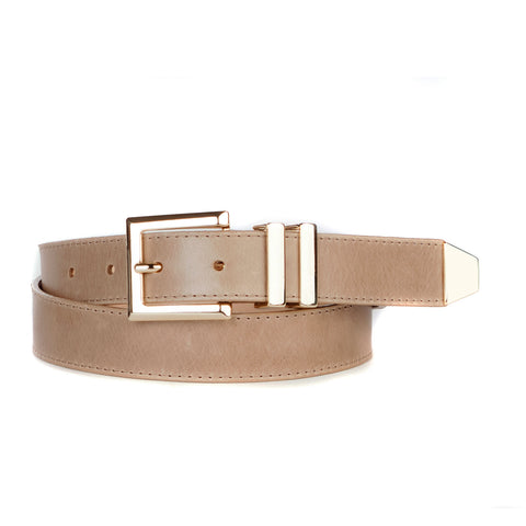 MINA NAPPA LEATHER BELT