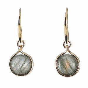 Reign Genuine Labradorite Bubble Earrings - Nica's Clothing & Accessories