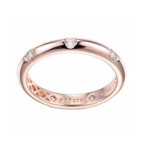 Reign Diamondlite Rose Stackable Ring - Nica's Clothing & Accessories
