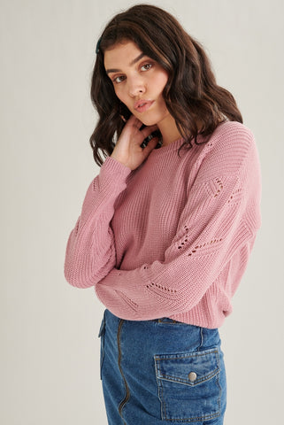 ROSA PULLOVER SWEATER