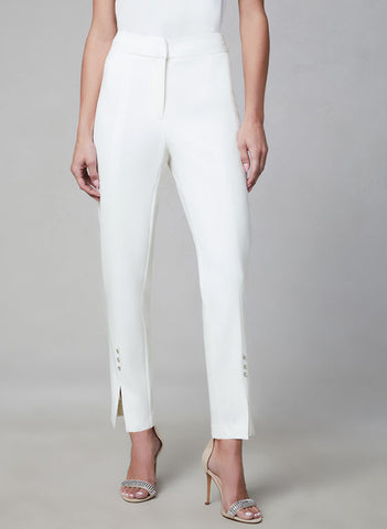 SLIM LEG ANKLE PANTS