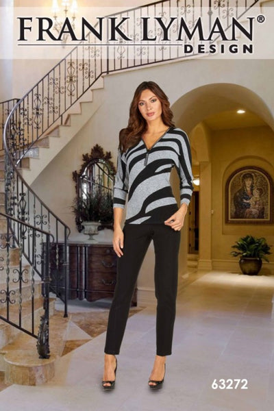 FRANK LYMAN Top 63272 - Nica's Clothing & Accessories - 2