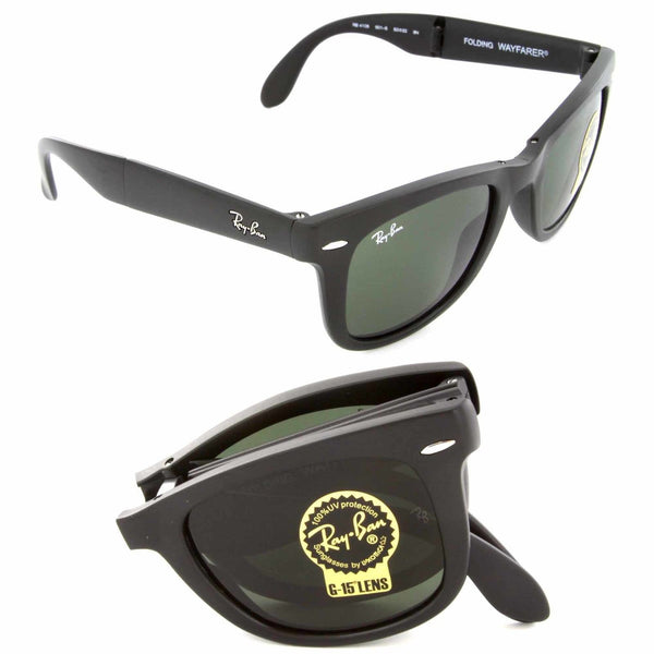 RAY-BAN WAYFARER FOLDING CLASSIC - Nica's Clothing & Accessories - 2