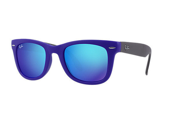 RAY-BAN WAYFARER FOLDING FLASH LENSES - Nica's Clothing & Accessories - 1