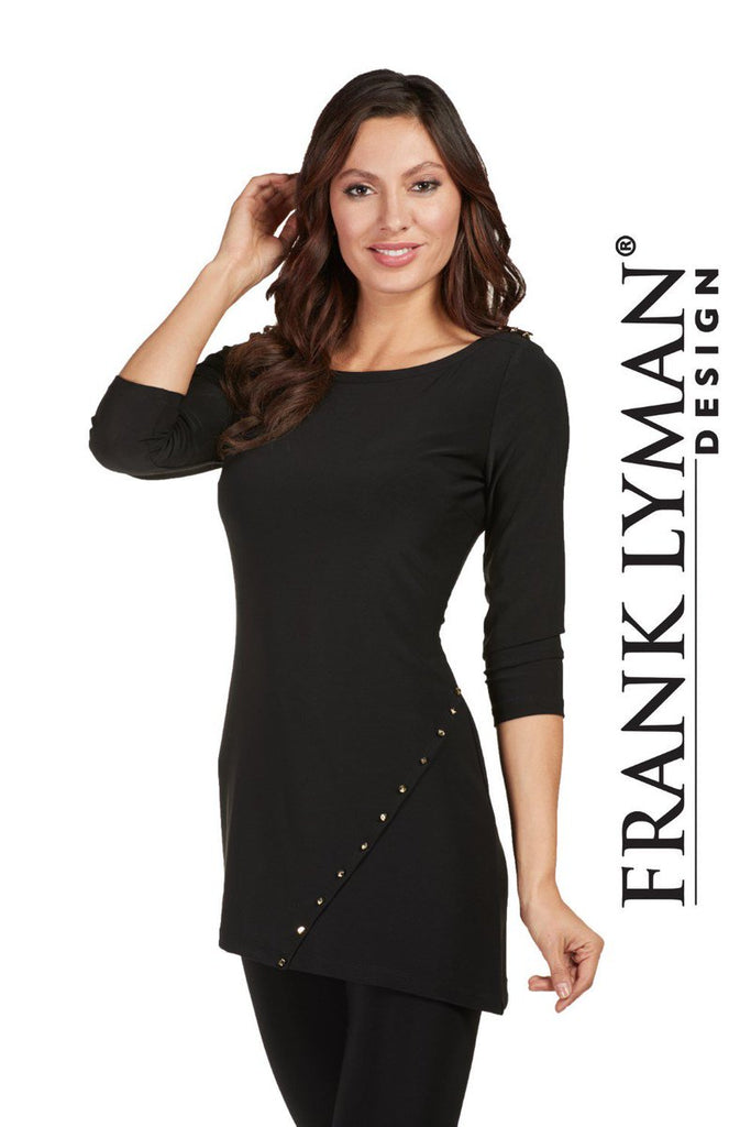 FRANK LYMAN ZIPPER TOP