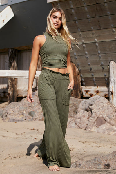 BLISSED OUT WIDE LEG PANT