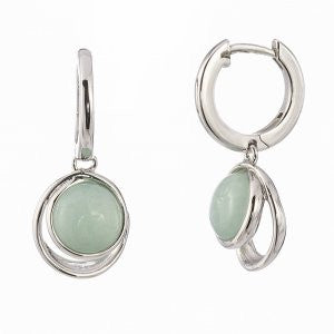Reign Genuine Dyed Amazonite Bubble Earrings - Nica's Clothing & Accessories