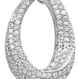 Reign Diamondlite Oval Twist Necklace - Nica's Clothing & Accessories - 2