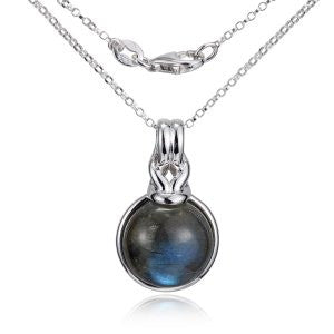 Reign Genuine Labradorite Bubble Necklace - Nica's Clothing & Accessories